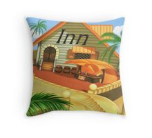 Costa Del Sol 4 Throw Pillow