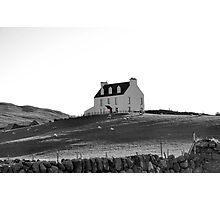 The House with the Red Door Photographic Print