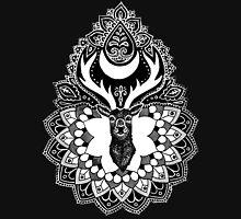 Luna Stag Mandala Unisex T-Shirt