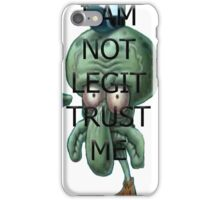 Squidward Legit iPhone Case/Skin
