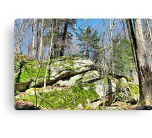 Green Grows the Rock Canvas Print