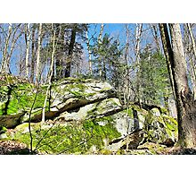 Green Grows the Rock Photographic Print