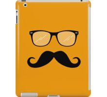 Geeky Mustache Guy iPad Case/Skin