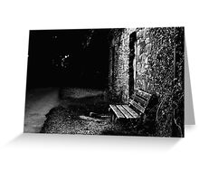 Empty Chair Greeting Card