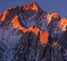 Lone Pine Peak by Inge Johnsson