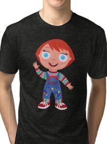Chucky the Good Guys Doll Tri-blend T-Shirt