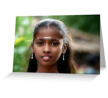 Indian Gypsy Princess Greeting Card