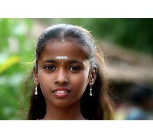 Indian Gypsy Princess Photographic Print