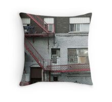 Montreal - Peter's Throw Pillow