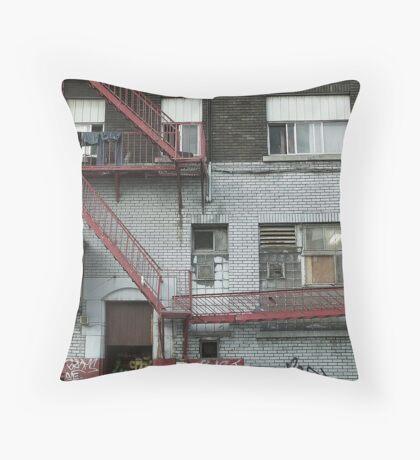 Montreal - Peter's Throw Pillow