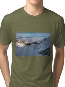 Winter on Kitzsteinhorn 21 Tri-blend T-Shirt