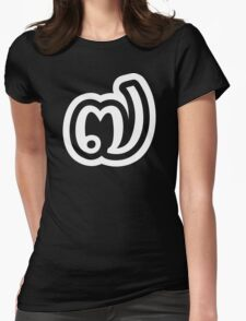 Thailand Number 7 / Seven / ๗ (Jed/Chet) Thai Language Script Womens Fitted T-Shirt