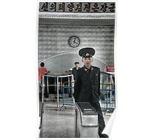 Standing Guard - DPRK Poster