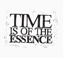 Time is of the Essence  by lilypilyyy