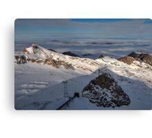 Winter on Kitzsteinhorn 24 Canvas Print