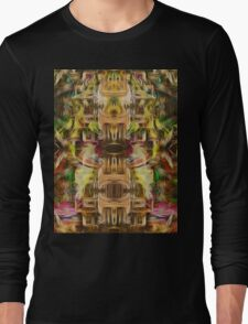 The Abstract Tower Long Sleeve T-Shirt