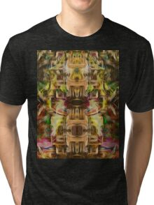 The Abstract Tower Tri-blend T-Shirt