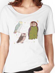 owls Women's Relaxed Fit T-Shirt