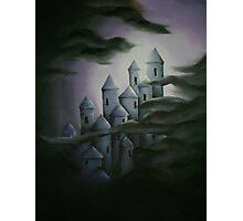 Dark fairytale castle Photographic Print
