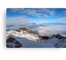 Winter on Kitzsteinhorn 29 Canvas Print