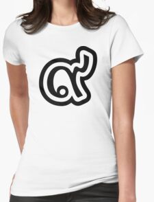 Thailand Lucky Number 9 / Nine / ๙ (Gao/Kao) Thai Language Script Womens Fitted T-Shirt