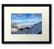 Winter on Kitzsteinhorn 30 Framed Print