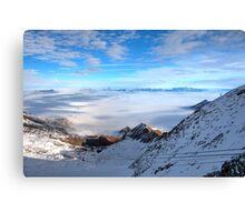 Winter on Kitzsteinhorn 30 Canvas Print