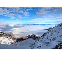 Winter on Kitzsteinhorn 30 Photographic Print