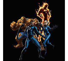 fantastic four super hero team Photographic Print
