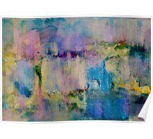 An Iridescent Oil Slick Poster