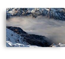 Winter on Kitzsteinhorn 32 Canvas Print