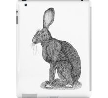 Sitting Rabbit iPad Case/Skin