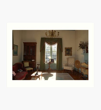 Stagecoach sitting room Art Print