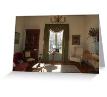 Stagecoach sitting room Greeting Card