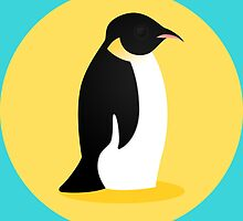 Emperor Penguin by Megan Prior-Pfeifer
