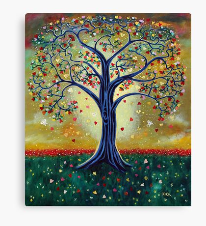 'The Giving Tree' (Dedicated to Shel Silverstein) Canvas Print