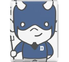 Devil Mascot Chibi Cartoon iPad Case/Skin