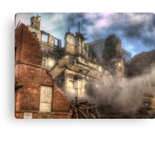 The Beast and the Building Canvas Print