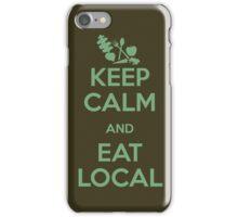 Eat Local iPhone Case/Skin