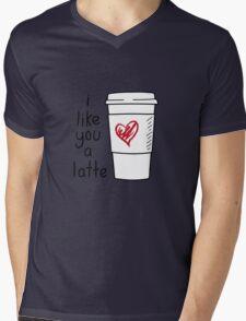 I Like You A Latte Mens V-Neck T-Shirt