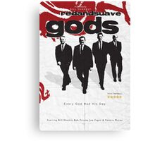 Red and Suave Gods- Bill Shankly, Bob Paisley, Joe Fagan & Ronnie Moran Canvas Print