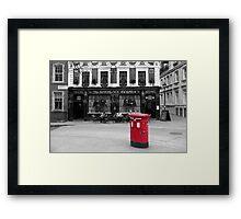 The Sherlock Holmes Framed Print