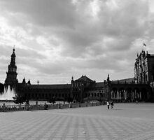 Plaza de España, Sevilla, Spain  by Andrea Mazzocchetti