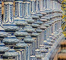 Plaza de España - Seville - Details by Andrea Mazzocchetti