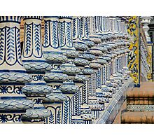 Plaza de España - Seville - Details Photographic Print