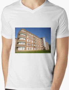London Deco: McLeod House 1 Mens V-Neck T-Shirt