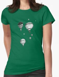Hot Air Balloons Womens Fitted T-Shirt