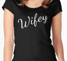 Wifey  Women's Fitted Scoop T-Shirt