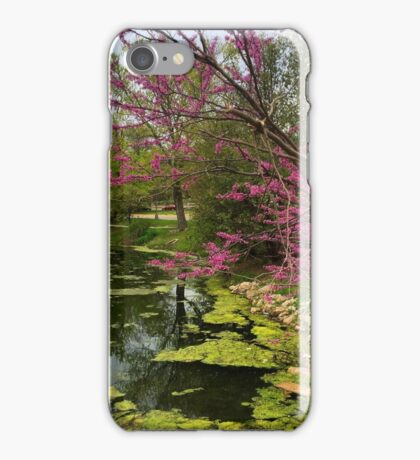 Springtime Pond iPhone Case/Skin