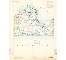 Massachusetts  USGS Historical Topo Map MA Marthas Vineyard 352839 1894 62500 Photographic Print